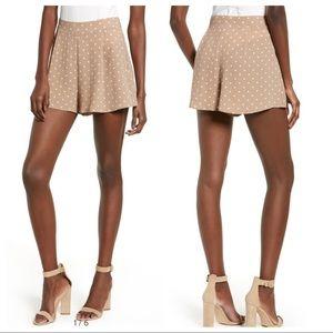 Show Me Your Mumu Polka Dot Marley Shorts XS
